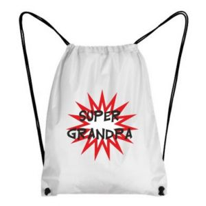 Plecak-worek Super grandpa