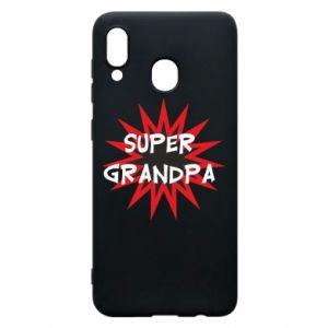Etui na Samsung A20 Super grandpa