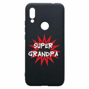 Etui na Xiaomi Redmi 7 Super grandpa