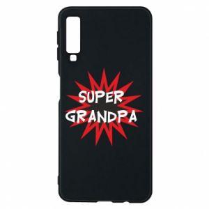Etui na Samsung A7 2018 Super grandpa