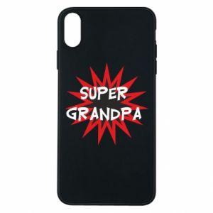 Etui na iPhone Xs Max Super grandpa