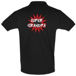 Koszulka Polo Super grandpa