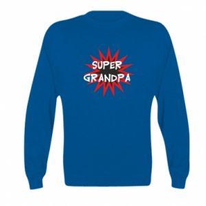 Bluza dziecięca Super grandpa