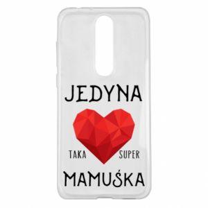 Etui na Nokia 5.1 Plus Super mamuśka
