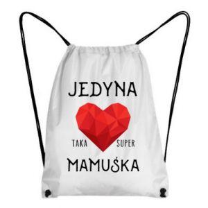 Plecak-worek Super mamuśka