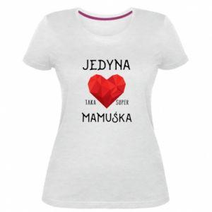 Damska premium koszulka Super mamuśka