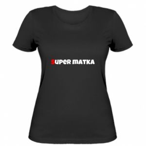 Damska koszulka Super matka
