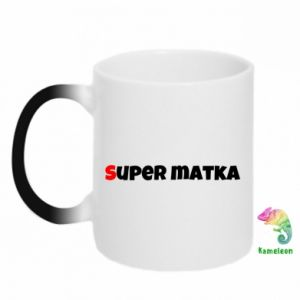 Chameleon mugs Super mother