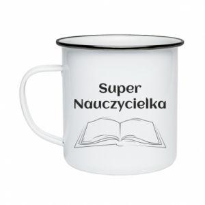 Enameled mug Super teacher