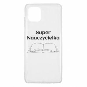 Samsung Note 10 Lite Case Super teacher