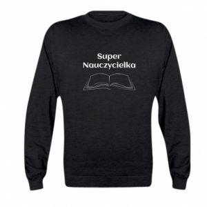 Kid's sweatshirt Super teacher