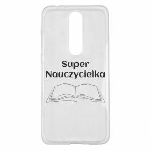 Nokia 5.1 Plus Case Super teacher