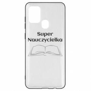 Samsung A21s Case Super teacher