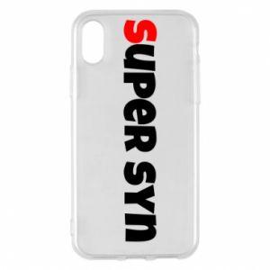 Etui na iPhone X/Xs Super syn