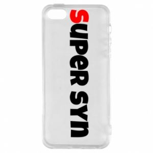 Etui na iPhone 5/5S/SE Super syn