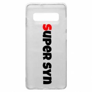 Etui na Samsung S10+ Super syn