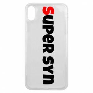 Etui na iPhone Xs Max Super syn