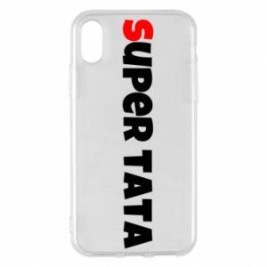 Etui na iPhone X/Xs Super tata.