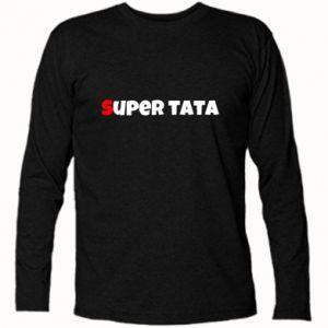 Koszulka z długim rękawem Super tata.