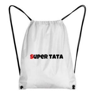 Plecak-worek Super tata.