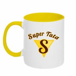 Two-toned mug Super dad