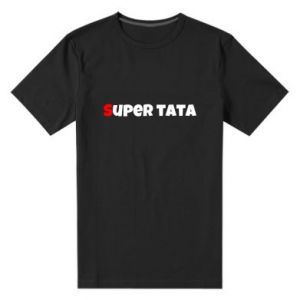 Męska premium koszulka Super tata.