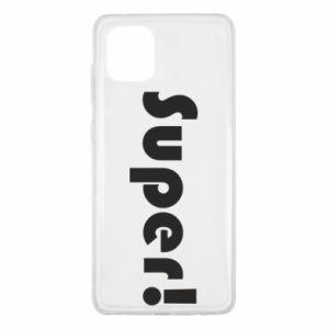 Etui na Samsung Note 10 Lite Super!
