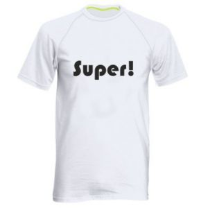 Men's sports t-shirt Super!