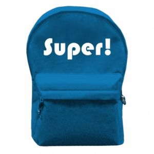 Backpack with front pocket Super!