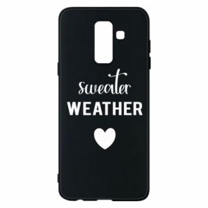 Etui na Samsung A6+ 2018 Sweater weather