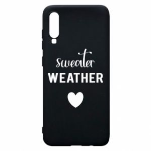Etui na Samsung A70 Sweater weather