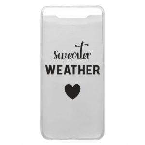 Etui na Samsung A80 Sweater weather