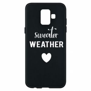 Etui na Samsung A6 2018 Sweater weather