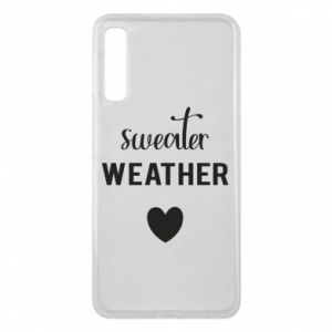 Etui na Samsung A7 2018 Sweater weather