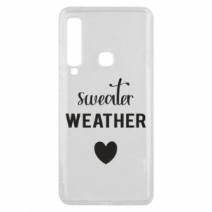 Etui na Samsung A9 2018 Sweater weather