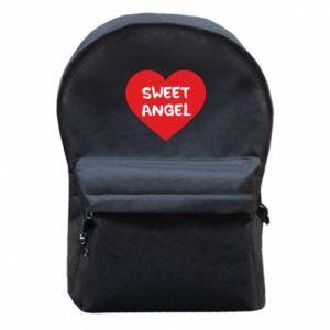 Plecak z przednią kieszenią Sweet angel