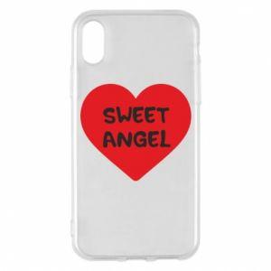 Etui na iPhone X/Xs Sweet angel
