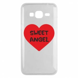 Etui na Samsung J3 2016 Sweet angel