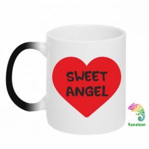 Kubek-kameleon Sweet angel