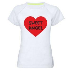 Damska koszulka sportowa Sweet angel