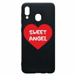 Etui na Samsung A20 Sweet angel