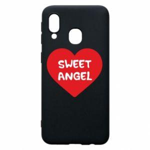 Etui na Samsung A40 Sweet angel