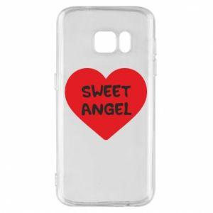 Etui na Samsung S7 Sweet angel