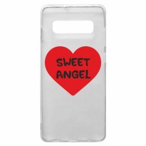Etui na Samsung S10+ Sweet angel