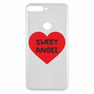 Etui na Huawei Y7 Prime 2018 Sweet angel