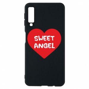 Etui na Samsung A7 2018 Sweet angel