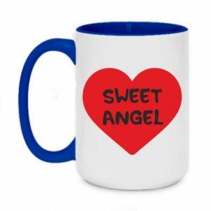 Kubek dwukolorowy 450ml Sweet angel