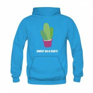 Bluza z kapturem dziecięca Sweet as a cacti