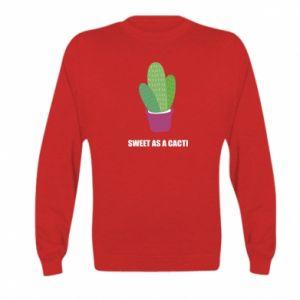 Bluza dziecięca Sweet as a cacti