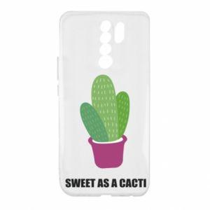 Etui na Xiaomi Redmi 9 Sweet as a cacti